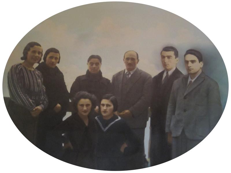 Gabba Giulio - La famiglia fondatrice